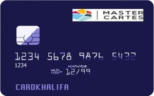 Carte bancaire Mastercartes
